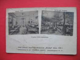 Wien VIII-1:Adolf Delasch,Hotel Und Restaurant Riedhof - Wien