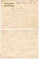 Carte De Visite : Conseil Général Des Bouches Du Rhône, 1939 - Cartes De Visite