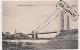 71 Verdun-sur-le-Doubs - Cpa / Pont De Chauvort Sur La Saône. - France
