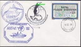 South Africa 1988 Cover Ca Swedish Antarctic Expedition, Ca Georg Von Neumayer Station, Ca Polarstern (21086) - Zonder Classificatie