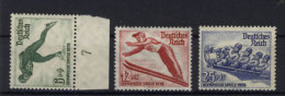 Deutsches Reich Michel No. 600 - 602 ** postfrisch