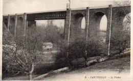 CPA PARTHENAY - LE VIADUC - Parthenay