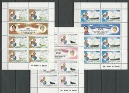 Grenadines -St Vincent: 210/ 215 ** En Feuillets - St.Vincent & Grenadines