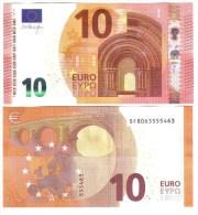 10 €  ITALIA FDS UNC Serie S003 Sf DRAGHI  Cod.€.099 - EURO