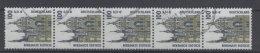 BRD Michel No. 2156 R 5er Streifen gestempelt used