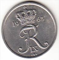 DINAMARCA 1965.FREDERIC IX . 25 ORE.NUEVA SIN CIRCULAR  VER FOTO   CN4286 - Dinamarca