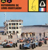 Linas Montlhery  Autodrome Image Et Histoire Du Circuit Avec Voiture - Frankreich