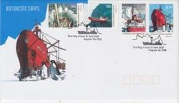 AAT 2003 Dan Ships 4v On FDC Ca Kingston Tas (F3191) - FDC