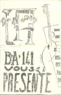 BASE AÉRIENNE 141 - Son Groupe Artistique - Programme - - Documenten