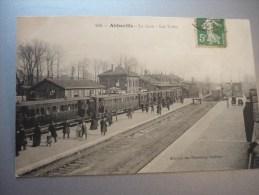 La Gare Les Voies - Abbeville