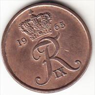 DINAMARCA 1965.FREDERIC IX . 5 ÖRE . EBC CASI SIN CIRCULAR.  VER FOTO   CN4286 - Dinamarca