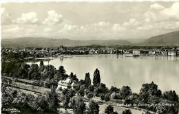 VD Vaud. Cologny. Vue De Genève Depuis Cologny. - VD Vaud