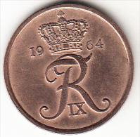DINAMARCA 1964.FREDERIC IX . 5 ÖRE . EBC CASI SIN CIRCULAR.  VER FOTO   CN4286 - Dinamarca