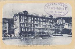 S. MARGHERITA LIGURE  -LIDO HOTEL E PANORAMA VG AUTENTICA 100% - Genova