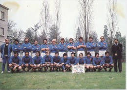 SPORT  -  RUGBY  -   EQUIPE -  FRANCE  ANGLETTERRE -  1976  - CPM - Voetbal