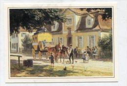 PAINTING - AK 227339 Paul Hey - Bayerische Poststation - Peintures & Tableaux