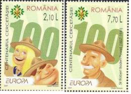 RUMANIA ROMANIA RUMANIE 2007 EUROPA 2 SELLOS - 2007