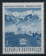**Österreich Austria 1968 ANK 1287 Mi 1257 (1) Ski Jump Winter Sport MNH - 1961-70 Nuovi & Linguelle