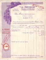 CHALON SUR SAÔNE - HUILES & GRAISSES POUR AUTOMOBILES & INDUSTRIES - LA PRECIEUSE - J. GUILLOT 1926 - Cars