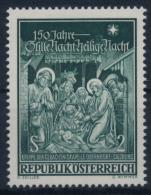**Österreich Austria 1968 ANK 1306 Mi 1276 (1) Christmas Song Stille Nacht, Heilige Nacht MNH - 1945-.... 2. Republik