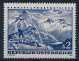 **Österreich Austria 1970 ANK 1371 Mi 1341 (1) Hiking Climbing Mountains Sport MNH - 1961-70 Nuovi & Linguelle