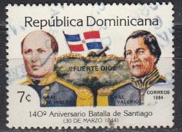 Repubblica Dominicana,  1984 - Battle Of Santiago - Nr.902 Usato° - Repubblica Domenicana