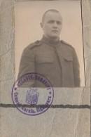 17293- SOLDIER IDENTITY CARD WITH PHOTO, SIGHISOARA GARRISON - Documenti Storici