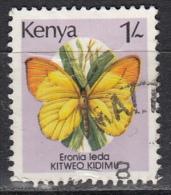 Kenya, 1988-90 - 1sh Eronia Leda - Nr.430 Usato° - Kenia (1963-...)