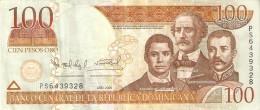 BILLETE DE REP. DOMINICANA DE 100 PESOS ORO DEL AÑO 2006 SERIE PS (BANKNOTE) - República Dominicana