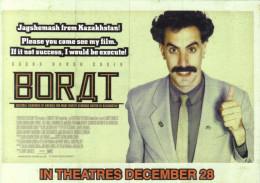 "15L : Movie Cinema Poster AdCard : ArtCard ""Borat"" 861 - Posters On Cards"