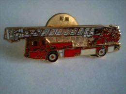 Camion De Pompiers , Grande Echelle - Bomberos