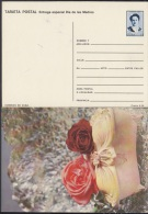 1991-EP-21 CUBA 1991. Ed.149e. MOTHER DAY SPECIAL DELIVERY. ENTERO POSTAL. POSTAL STATIONERY. ROSAS. ROSE. FLORES. FLOWE - Cuba