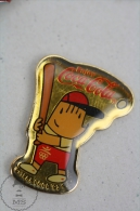 Olympic Games Barcelona 1992 - Cobi Mascot Basseball - Coca Cola Advertising - Pin Badge #PLS - Coca-Cola