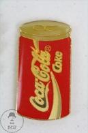 Coke Tin/ Can Coca Cola Advertising - Pin Badge #PLS - Coca-Cola