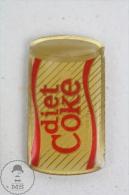 Diet Coke Tin/ Can Coca Cola Advertising - Pin Badge #PLS - Coca-Cola