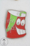 Cola Light Tin/ Can Caricature Coca Cola Advertising - Pin Badge #PLS - Coca-Cola