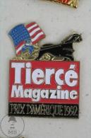 Tiercé Magazine - Prix Damerique 1992- Horse Racing - Pin Badge #PLS - Pin