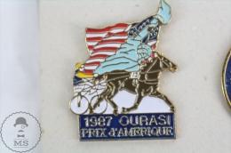 1987 Ourasi Prix D´Amerique - Horse Racing - Pin Badge #PLS - Pin