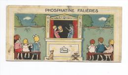 PHOSPHATINE FALIERE CHROMOS Guignol Enfants Sur Des Bancs - Unclassified