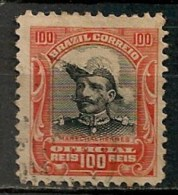 Timbres - Amérique - Brésil - 1913 - Official - 100 Reis - - Dienstzegels