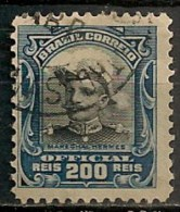 Timbres - Amérique - Brésil - 1913 - Official - 200 Reis - - Dienstzegels