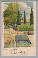 AK Kroatien Abbazia (Opatiga)1901-09-11 Künstlitho Z.Frank - Croatie
