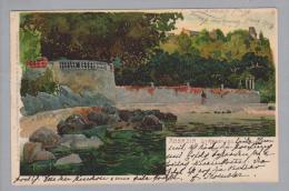 AK Kroatien Abbazia (Opatiga)1905-09-12 Kunstlitho Z.Frank - Croatie