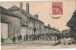 Carte Postale Ancienne De MONTHOIS - France