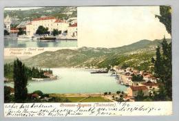 AK Kroatien Pravosa-Ragusa 1908-03-22 Foto Purger&Co. - Croatie