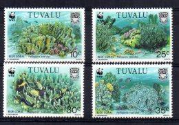 Tuvalu - 1992 - Endangered Species/Blue Coral - MNH - Tuvalu