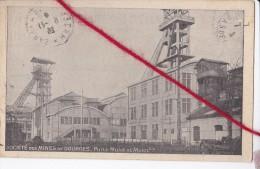 CP 62   -  HENIN LIETARD   -  Sté Des Mines De DOURGES - Puits Mulot Et Mulot Bis - Henin-Beaumont