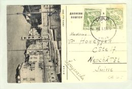 AK Kroatien Hvar 1958-01-09 Bildpostkarte übereinstimmend - Croatie