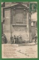 75 - Paris - Rue Des Archives - Fontaine Des Haudriettes - Poeme De Philippe Dufour - Arrondissement  3 Ou 4 - France