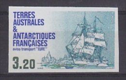TAAF 1987 Ship Eure 1v IMPERFORATED ** Mnh (21108) - Ongetande, Proeven & Plaatfouten